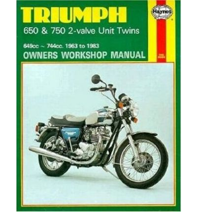 Triumph 650 and 750 2 Valve Unit Twins Owner's Workshop Manual