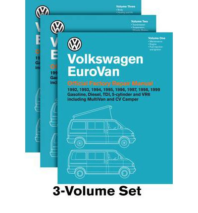Volkswagen EuroVan Official Factory Repair Manual 1992-1999