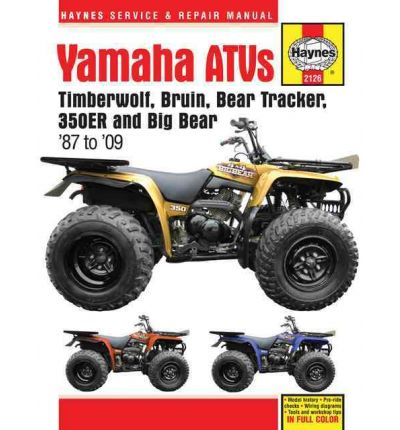 Yamaha ATVs Timberwolf, Bruin, Bear Tracker, 350ER and Big Bear