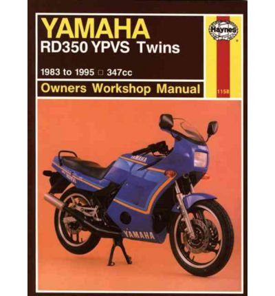 Yamaha RD350YPVS Twins 347cc 1983-91 Owners Workshop Manual