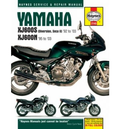 Yamaha XJ600S and XJ600N Service and Repair Manual