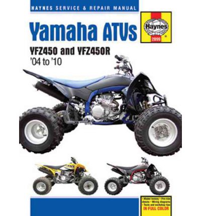 Yamaha YZF450 & YZF450R ATV's Service and Repair Manual