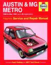 Austin MG Metro 1980 1990 Haynes Service Repair Manual