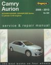 Toyota Camry Aurion 2006-2013 Gregorys Service Repair Manual