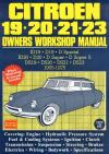Citroen 19 20 21 23 1955 1975 Workshop Manual   Brooklands Books Ltd UK