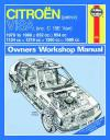 Citroen Visa Petrol 1979 1988 Haynes Service Repair Manual    UK