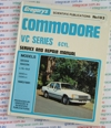 Holden Commodore VC repair manual 1980 - 1981