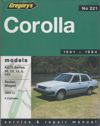 Toyota Corolla 1300 1981 1984 Gregorys Service Repair Manual