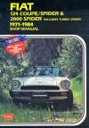 Fiat 124 Coupe Spider 2000 Spider 1971 1984 Workshop Manual   Brooklands Books Ltd UK