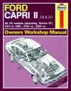 Ford Capri Series 2 Series 3 1974 1987 Haynes Service Repair Manual