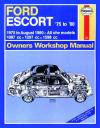 Ford Escort 1975 1980 Haynes Service Repair Manual