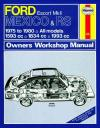 Ford Escort Mk 2 Mexico RS 1600 RS 2000 1975 1980