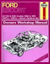 Ford Escort MkI 1100 1300 1968 1974 Haynes Service Repair Manual
