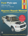 Ford F150 Pick Ups 2004-2014 Haynes Service Repair Manual