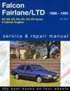 Ford Falcon Fairlane LTD Ute Van EA EB ED LTD 1988 1995