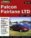 Ford Falcon Fairlane LTD 1988 1992 Gregorys Service Repair Manual