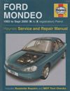 Ford Mondeo repair manual Haynes 1993-2000 NEW