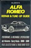 Glenns Alfa Romeo Repair Tune Up Guide All Giulietta early Giulia 2000 1600 from 1954 1967   Brookla