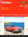 Holden Kingswood HX HZ repair manual 1976-1980 NEW