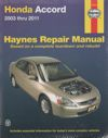 Honda Accord 2003-2011 Haynes Service Repair Manual