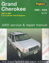 Jeep Grand Cherokee Gregorys Service Repair Manual  1993-2005