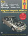 Kia Sephia Spectra 1994 2009  Haynes Repair Manual