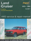 Toyota Landcruiser petrol FJ series repair manual 1975-1984 NEW