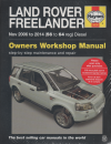 Land Rover Freelander Diesel 2006-2014 Haynes Service Repair Manual