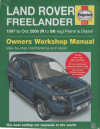 Land Rover Freelander Petrol Diesel 1997-2006 Haynes Service Repair Manual