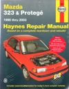 Mazda 323 Protege 1990-2003 Haynes Service Repair Manual