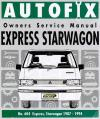 Mitsubishi Express Starwagon 1987 1994 Autofix Service Repair Manual