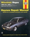 Mitsubishi Magna TM TN TP 1985 1991 Haynes Service Repair Manual