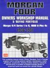 Morgan Four Workshop Manual Buying Portfolio   Brooklands Books Ltd UK