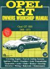 Opel GT 1968 1973 Service Repair Manual   Brooklands Books Ltd UK