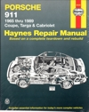 Porsche 911 Coupe Targa Cabriolet 1965 1989 Haynes Service Repair Manual