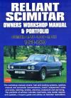 Reliant Scimitar 1968 1979 Workshop Manual Portfolio   Brooklands Books Ltd UK