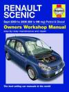 Renault Scenic Petrol Diesel 2003 2006 Haynes Service Repair Manual    UK