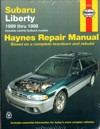 Subaru Liberty inc Outback 1989 1998 Haynes Service Repair Manual