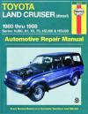 Toyota Land Cruiser Diesel 1980 1998 Haynes Service Repair Manual