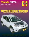 Toyota RAV4 Petrol 2013-2018  Haynes Service Repair Manual