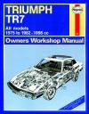Triumph TR7 1975 1982 Haynes Service Repair Manual