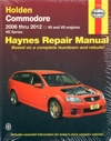 Holden Commodore VE Series 2006-2012 Haynes workshop repair Manual
