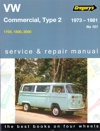 Volkswagen VW Commercial Type 2 Series 1973-1981