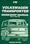 Volkswagen VW Transporter T3 Petrol 1982-1989 Service Repair Manual   Brooklands Books Ltd UK