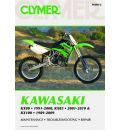 Clymer Kawasaki KX80 1991-2000, KX85 2001-2010 and KX100 1989-2009