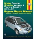 Dodge Caravan Automotive Repair Manual