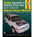 Dodge Durango and Dakota Pick-ups (1997-1999) Automotive Repair Manual
