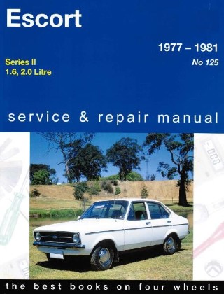 Ford Escort Mk 2 1977 1981 Gregorys Service Repair Manual