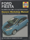 Ford Fiesta Petrol and Diesel 2008-2011  Haynes Workshop Repair Manual