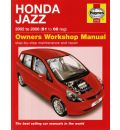 Honda Jazz 2002-2008 Haynes Service Repair Manual